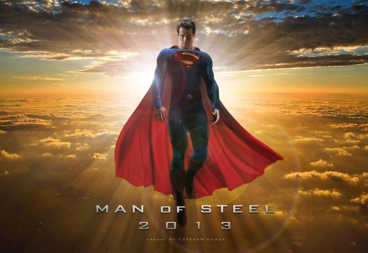 Man, Of, steel, film, terbaru, 2013