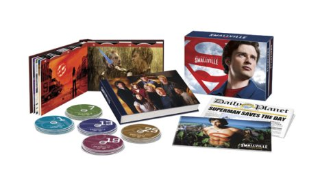 smallville complete series dvd